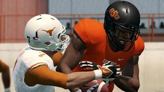 Texas Vs Oklahoma State Full Game Highlights | NCAA College Football Live 10/31 (NCAA 14)