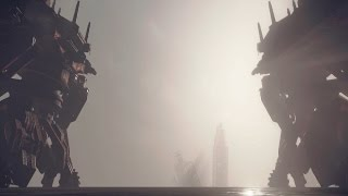 Nier Automata: Pascal vs Engels Goliath Fight (1080p 60fps)