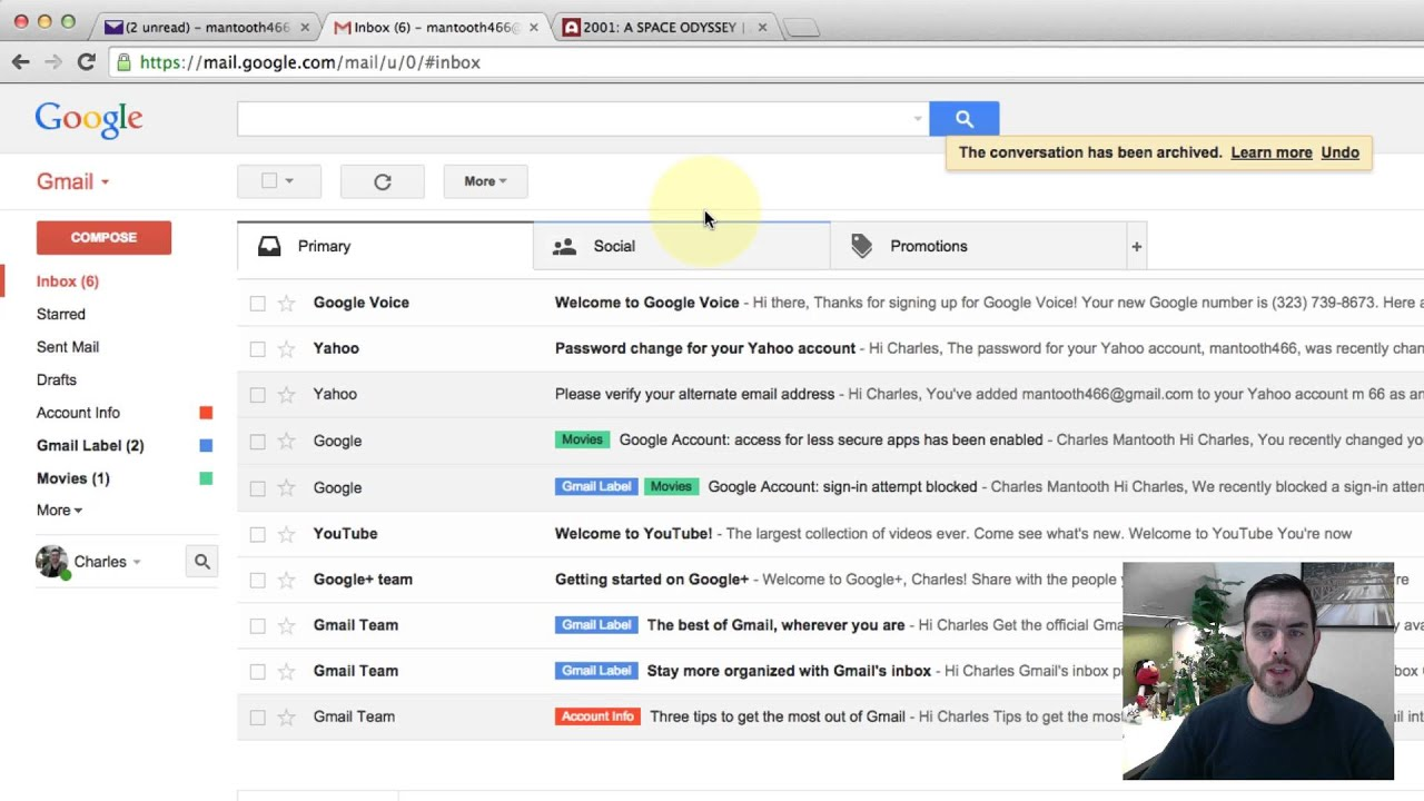 How to Find Archived Messages in Gmail