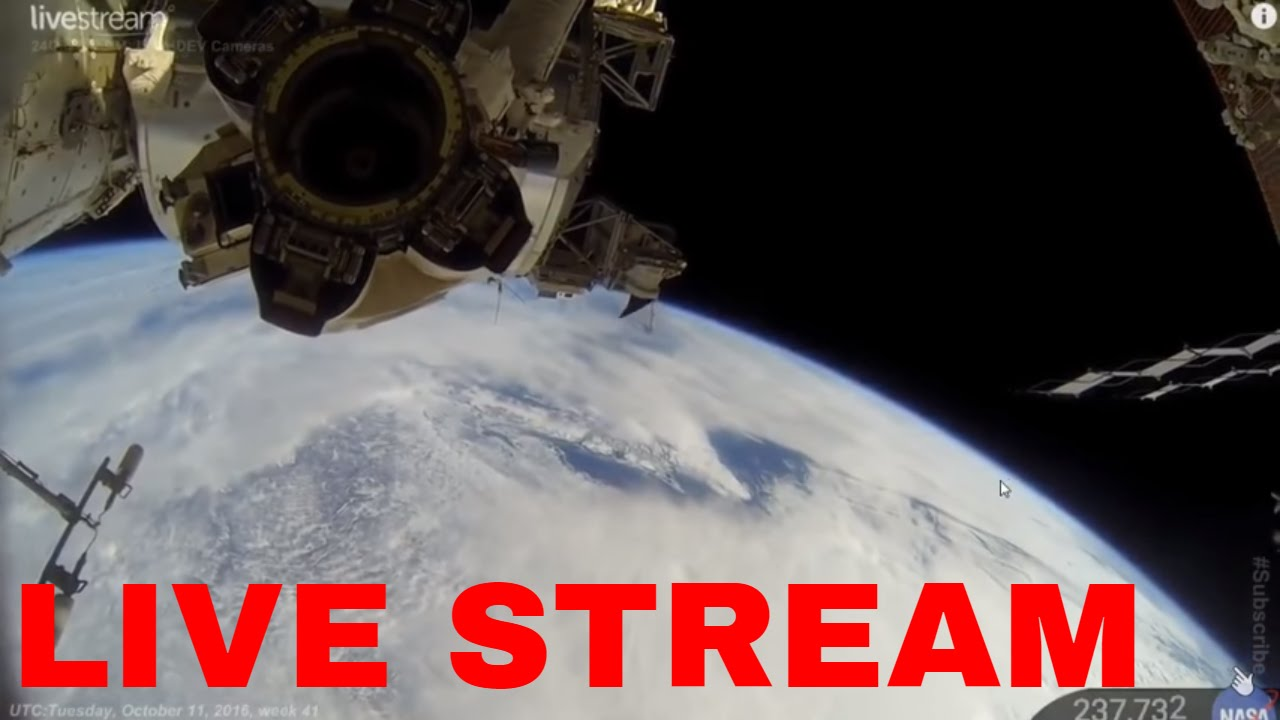 24 7 Live Earth From Space Nasa Spacetalk 2016