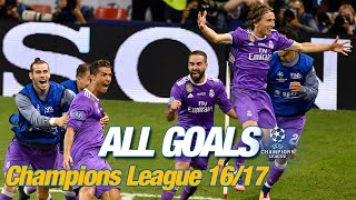 Every Champions League Goal 2016/17   The Bbc On Fire & Two Amazing Cristiano Hat-tricks!