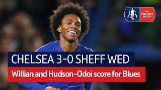 Chelsea vs Sheffield Wednesday (3-0) | Emirates FA Cup Highlights