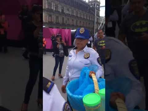 MIRA LO QUE LAS AUTORIDADES LE HACEN A LADY TACOS DE CANASTA