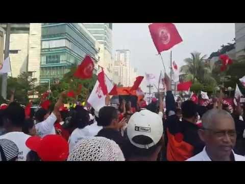 Jokowi Campaign (Car Free Day)