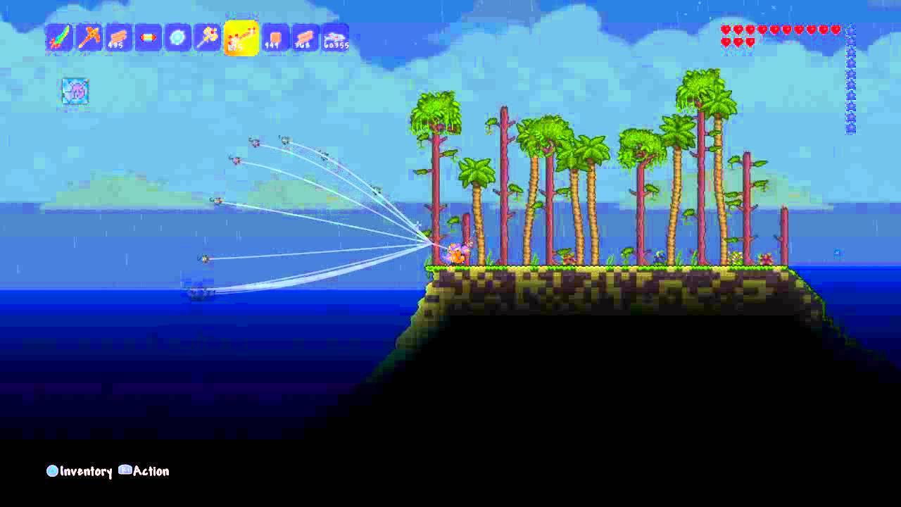 Terraria Awesome Fishing Glitch Youtube