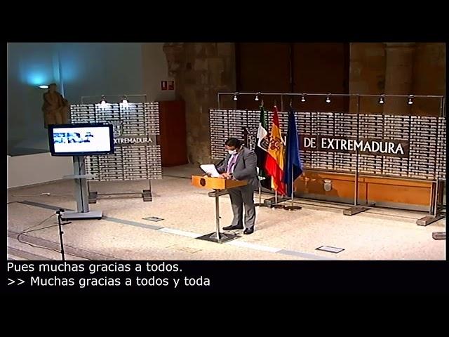 El vicepresidente segundo y consejero de Sanidad y Servicios Sociales, José María Vergeles