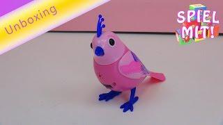 digibirds deutsch - Silverlit Digi Bird Lacy Elektronisches Haustier 88294 Unboxing