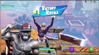 MY FIRST SOLO WIN ON FORTNITE w/ GALAXY SKIN