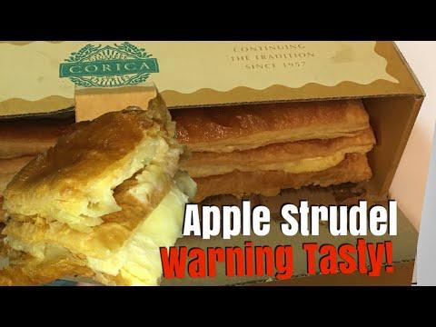 Famous Apple Strudel from Corica Pastries in Perth, Australia