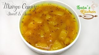 Mango Curry Sweet & Sour - Aam ki Khatti Meethi Sabzi - Indian Side Dish - Lata