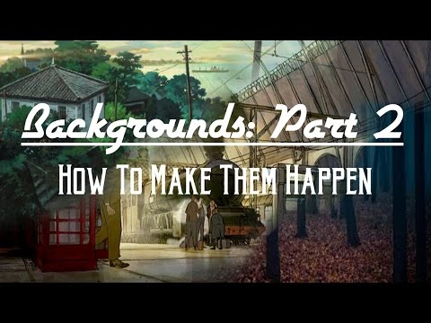 Why You Should LOVE Backgrounds: Part 2!