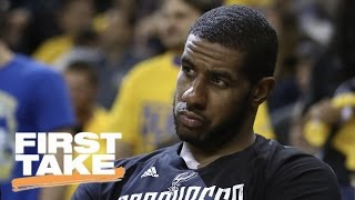 Who's To Blame For Spurs' Blowout | First Take | May 17, 2017