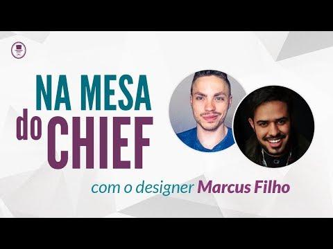 Na mesa do Chief - Designer Marcus Filho
