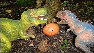 ДИНОЗАВРЫ для детей. СБОРНИК мультиков. ЗАХВАТ долины динозавров. Неизвестное ЯЙЦО