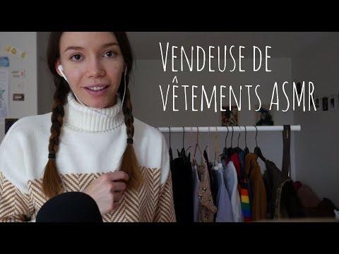ASMR | Roleplay: vendeuse de vêtements