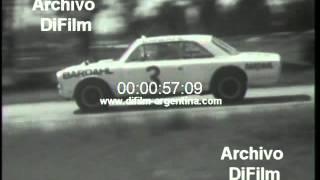 DiFilm - Carrera de Turismo Carretera vuelta de Junin 1967