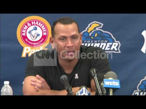 MLB: ALEX RODRIGUEZ TRENTON POST