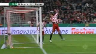 Bayern München - Werder Bremen 2:1 (DFB Pokal 2010)