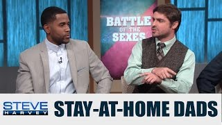 "Battle of the Sexes: Are stay-at-home dads ""punking out?"" 