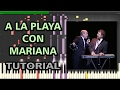 A la Playa con Mariana - Les Luthiers | Synthesia Piano Tutorial