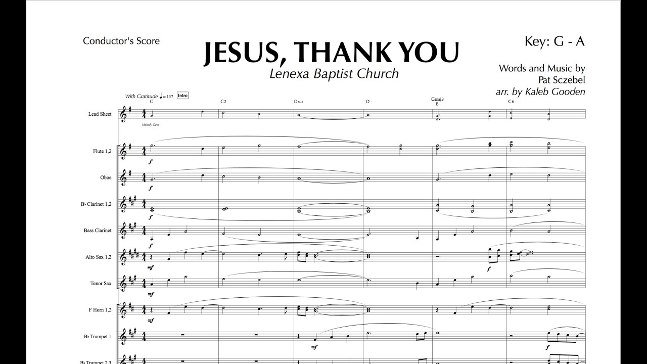 jesus thank you lenexa baptist church youtube - When Christmas Comes To Town Chords