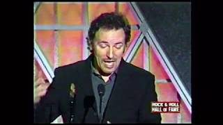 Bruce Springsteen: Induction into Rock & Roll Hall of Fame 1999