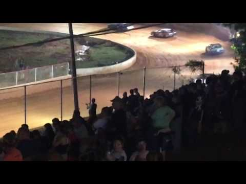 """Carl """"MailMan"""" Maree #2 Renegade Car-April 29,2017-East Lincoln Speedway 3rd Place Finish"""