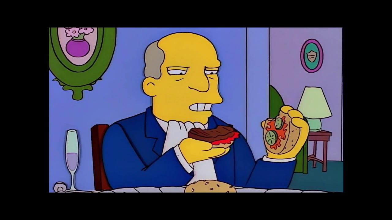 Simpsons steamed hams meme - YouTube