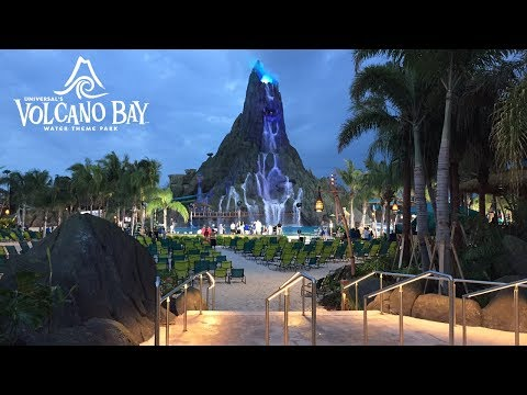 NEW Universal's Volcano Bay Water Theme Park Grand Opening Tour! (5/25/2017)