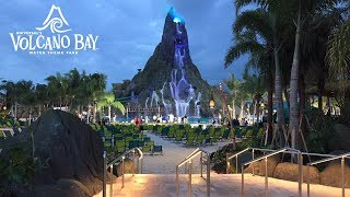 new universals volcano bay water theme park grand opening tour 5252017