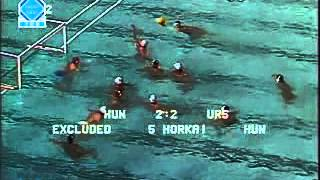 Water Polo - 1980 Moscow Olympics: USSR vs Hungary 5-4