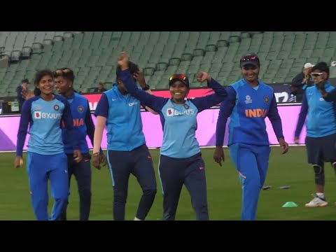 India's fun fielding drill | Women's T20 World Cup