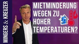 Mietminderung wegen zu hoher Temperaturen? | #FragMingers