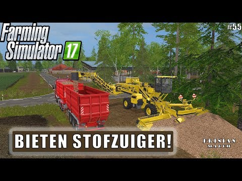 """BIETEN STOFZUIGER!"" FarmingSimulator 17 Frisian March #55"