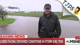 MSNBC Cuts Off Reporter Telling Truth About Floods & Oil