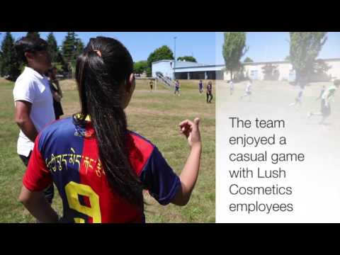 Tibet women's soccer team comes to Vancouver