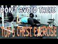 Top 5 Chest exercise to MAXIMIZE GROWTH | Details of best chest exercise
