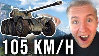 TO JEDZIE 105 KM/H - Panhard EBR 105 - World of Tanks