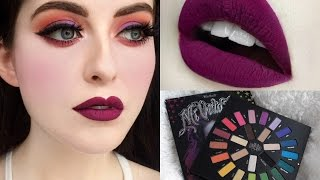 Coulourful Fall Makeup Tutorial | Kat Von D Mi Vida Loca Remix Palette