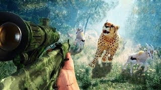 Download Video 3D Sniper Hunter Wild Safari (by Gameplay) Android Gameplay [HD] MP3 3GP MP4