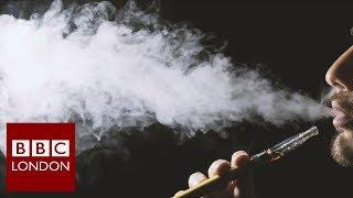 Vaping to stop smoking - BBC London News