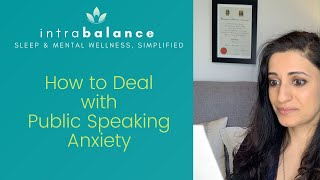 How To Deal With Public Speaking Anxiety