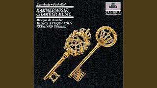 Pachelbel: Partie (Suite) In E Minor - Sonata. Adagio - Aria