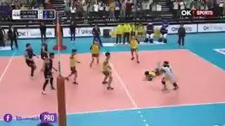 Volleyball spielen in Japan unglaublich