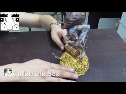 Repainted Treasure Goblin Statue Blizzard Employee Gift Unboxing Warcraft Diablo 3