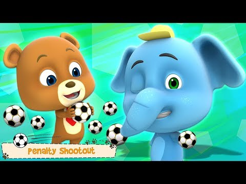 tanda de penaltis - videos graciosos de futbol - videos para niños - Penalty Shootout - Loco Nuts - 동영상