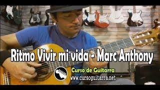 Vivir mi vida ritmo Marc Anthony