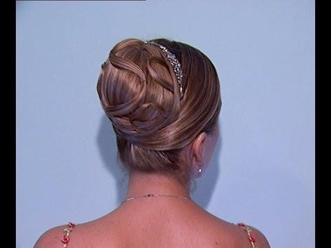 Peinados de novia semi recogidos recogido altos for Recogidos altos para novias