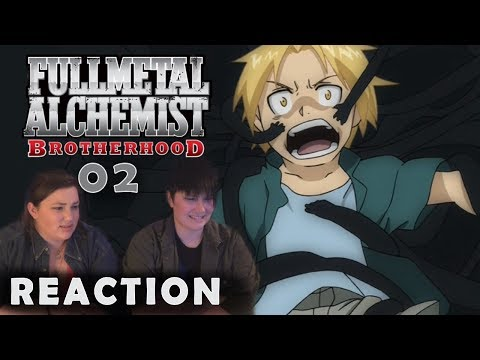 Fullmetal Alchemist Brotherhood 02 THE FIRST DAY Reaction!!