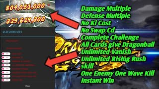 Dragon Ball Legend Mega Mod, High Damage, High Def, No ki Cost, Unli Rush skill | DB Legends